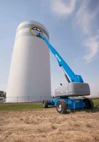 威海吉尼进口高空作业车AWP系列/移动液压升降平台维修
