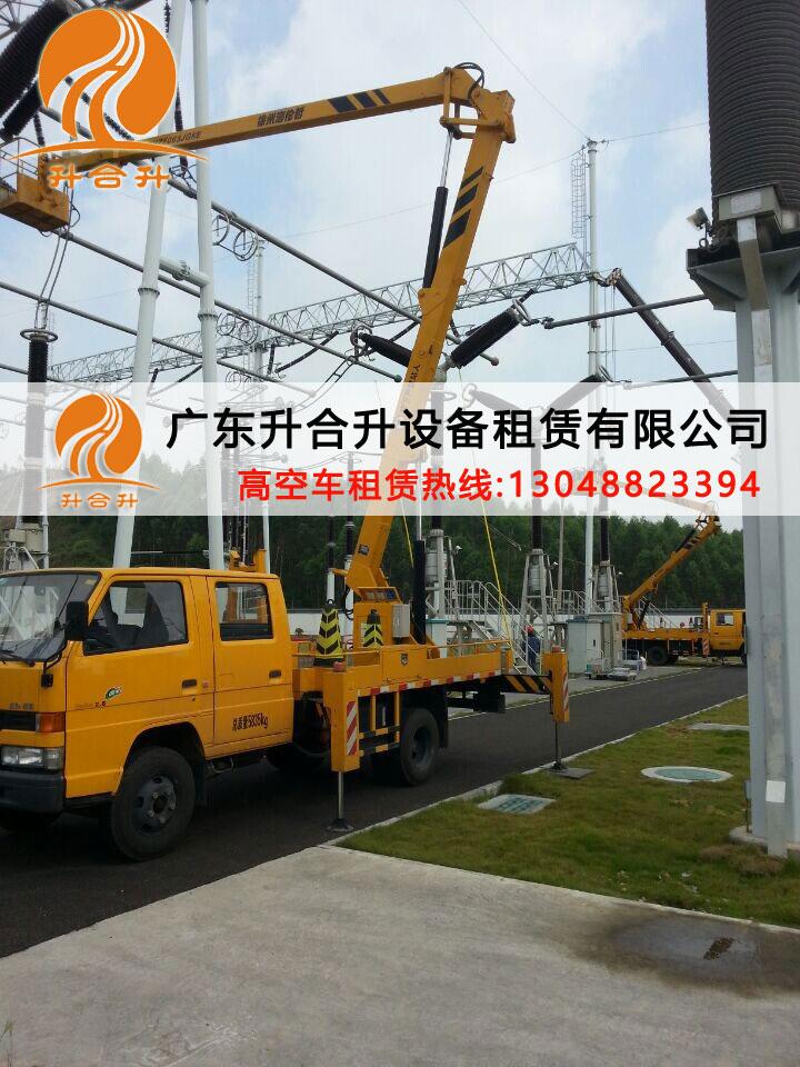 珠海租赁灯光改造作业车路灯安装作业车出租服务