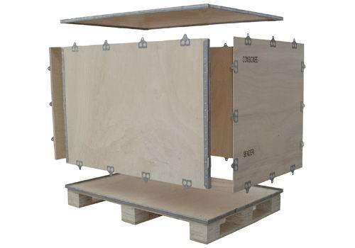 包顺包装生产订制钢带箱
