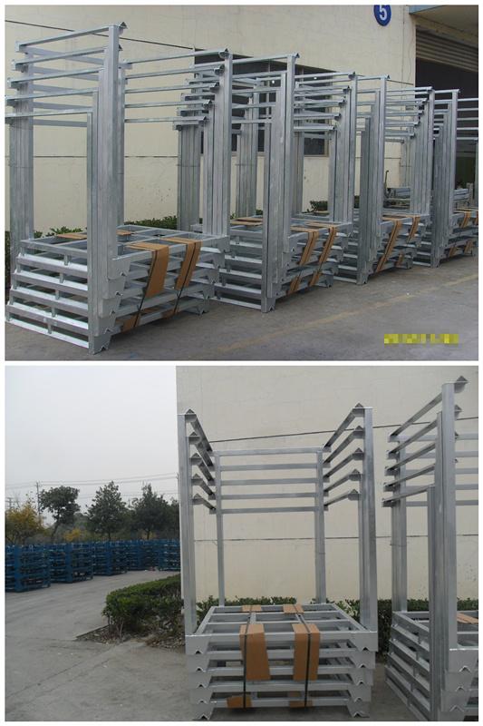 巧固架 单元托盘货架 可独立保管 可堆高