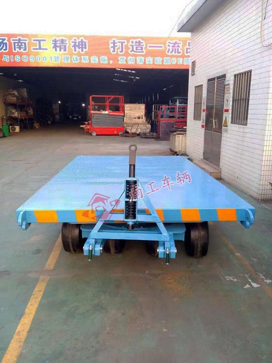 25吨重型平板拖车 全挂式