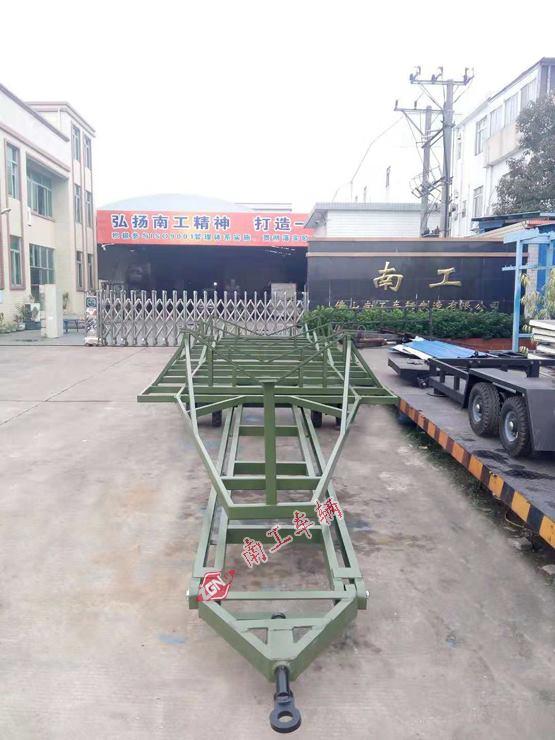 游艇拖车 8吨重型游艇拖车