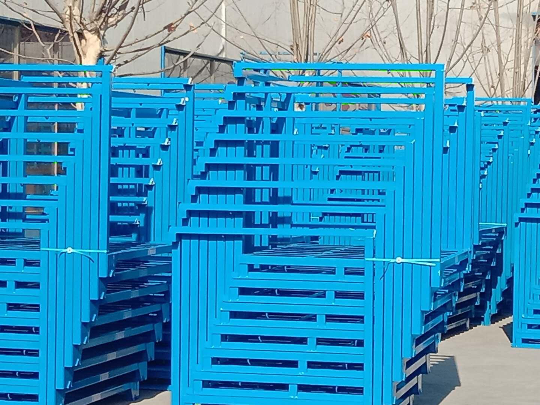 山东地区直销 周转箱 仓储笼 钢托盘 塑料托盘 模板托盘