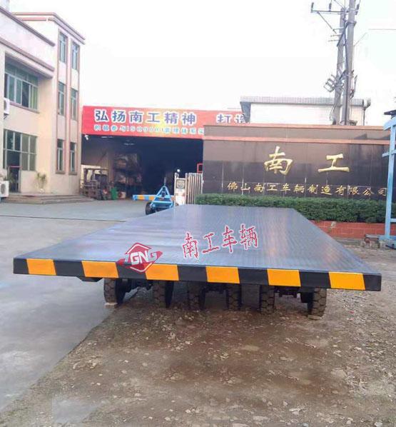 平板车 20吨无动力全挂型平板拖车
