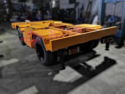 5.5吨电动手动两用牵引拖车底盘