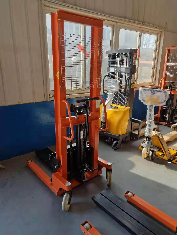烟台米玛TA系列1.0-2吨半电动堆高车/仓储托盘堆垛车工厂直销
