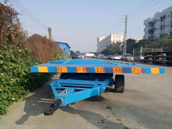 物流15吨20尺集装箱平板拖车