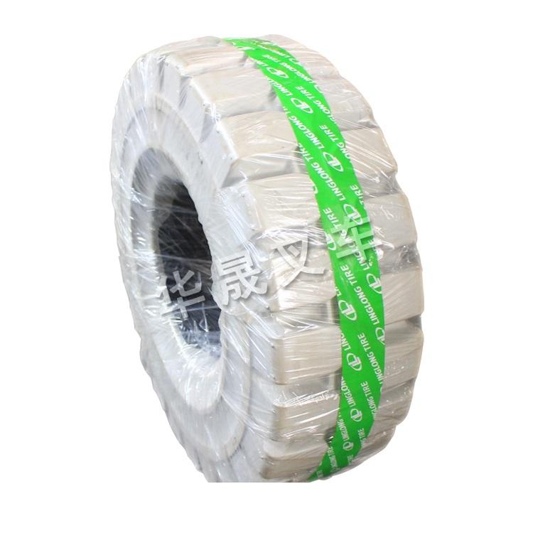烟台叉车配件环保实心轮胎玲珑供应华晟叉车