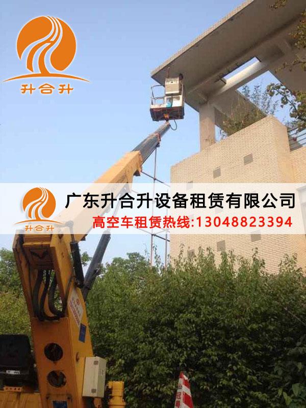 深圳24米吊篮车出租路桥检测车出租急用