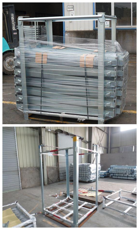 可移动、可堆叠组合型货架,镀锌,冷库货架,可单元保管