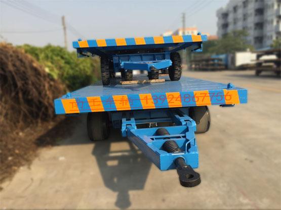 30~50吨重型平板拖车