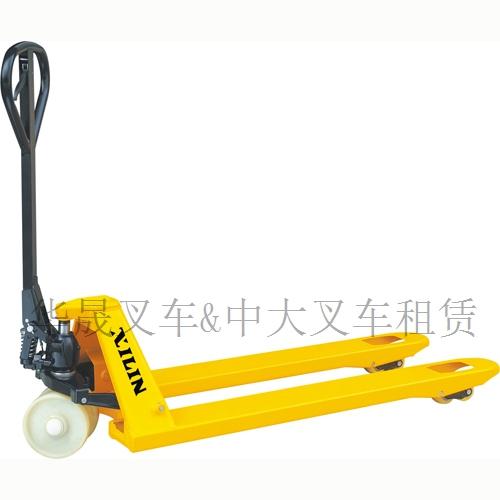 烟台手动液压搬运车/小型托盘车地牛各种规格按需定制:华晟叉车
